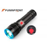 5W 350 Lumens Led Flashlight Rechargeable , 4 Mode Handheld Military Tactical Flashlight