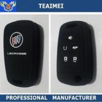 China Promotion Multi Color Remote Silicone Car Key Cover Case For Various Car Logo wholesale