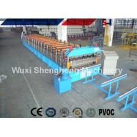 China Color Coated Steel Roof Panel Forming Machine Large Span For Roof Sheet Making wholesale