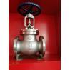 China SS304 PN16 1 Inch Water Globe Valve Flange Ends Regulating ANSI Standard wholesale