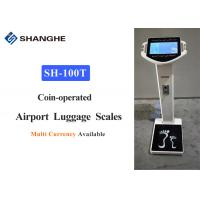 China Aviation Aluminum Airport Baggage Weighing Scales High Speed Thermal Printing wholesale