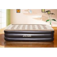 China Luxury Family Raised Double Size Air air mattress Comfortable Bed  Bedroom Furniture inflatable bed on sale