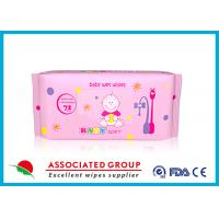 Multi Pack Baby Wet Wipes For Face , Reusable Wet Wipe Tissues