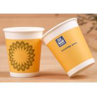 China Soft Drink Single Wall Paper Cups With Lids Insulated Paper Coffee Cups wholesale