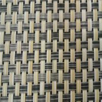 China Pvc Coated Textiline Fabric , Breathable Mesh Fabric Woven Polyester Material on sale