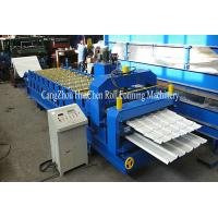 China High Grade 45# Shaft Double Layer Roll Forming Machine for Roof Panel wholesale