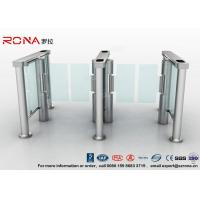 China Swing Barrier Gate Pedestrian Security Gate Visitor Entry Access Control For Office Building With CE approved wholesale