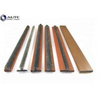 China Customized Metal Channel Strip Brushes Self Adhesive Fire Door Intumescent Seal wholesale