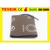 China M1576A PU adult thigh NIBP cuff single hose for patient monitor wholesale