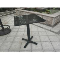 China Bistro Table base  Cast Iron Table leg Water proof  Outdoor Furniture Bar Table wholesale