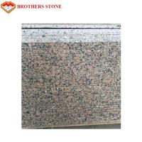 China Natural Stone Cherry Red Granite Tile For Flooring / Wall Cladding wholesale