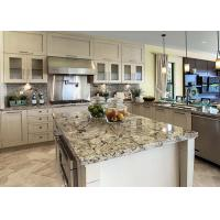 China Modern Prefab Home Natural Stone Kitchen Countertops Flat Eased Edge 36 X 19 Bathroom Vanity Top wholesale