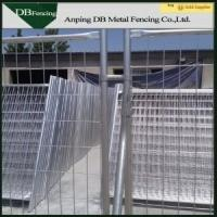 Galvanized Temporary Site Fence Panels Removable Australian Standard