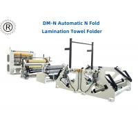 China N Folded Glue Lamination System Hand Towel Machine Independent Motor Driving wholesale