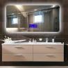 China Wall Mounted LED Bathroom Mirror With Radio Fingerprint - Free wholesale