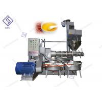 China Automatic Home Black Seed Screw Oil Press Machine 2650 * 1900 * 2700mm wholesale