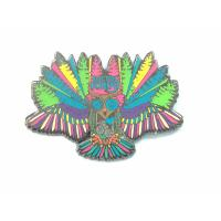 China Colorful Cute Hard Lapel Enamel Pins Animal Owl Shape For Business Gifts wholesale