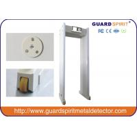 China CE Door Frame Walk Through Metal Detector Arch Way With Wheels , 850mm Width Channel wholesale