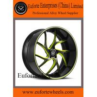 China Black and Red Forged Custom Wheels 13 - 15KG 20 Inch Car Rims wholesale