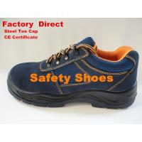 China Cow Suede Leather Sport Safety Shoes, Mens Safetry Shoes wholesale