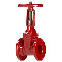 China Flange Grooved Type Resilient Seated Gate Valve High - Grade Rubber Disc Available wholesale