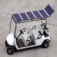 China 4 seat Solar golf cart on sale