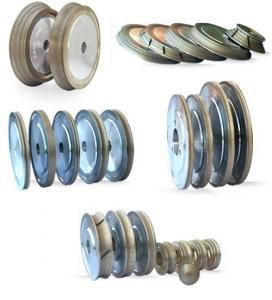 China Diamond Grinding Wheels for Glass Shape Beveling Machines wholesale