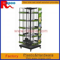 China Counter Spin Racks,WAREHOUSE RACK,Kitchen Storage Wire Rack,Metal Wire Retail Display,Store Counter, on sale