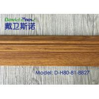 UV Coating Plastic Skirting Board Laminated Floor Accessories High Density