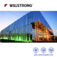 Buy cheap Silver Mirror Aluminum Composite Panel 1220mm Width / 4mm Thickness from wholesalers