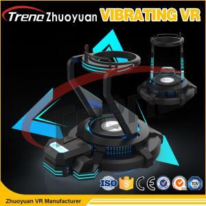 Buy cheap 360 máquina de vibração do entretenimento da realidade virtual da plataforma 1.2KW do simulador da visão 9D VR do grau from wholesalers
