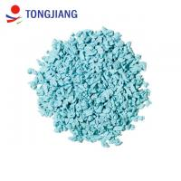 China Sky blue best selling hot sale safty environmental EPDM rubber granules for playground kindergarten wholesale