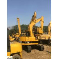 China Second Hand E200b E120b E70b Cat Excavator , Old Cat Excavator Yellow Color wholesale