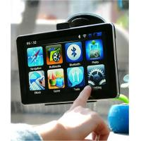 China 7 inch TFT color touch screen bluetooth GPS sat nav with SirF Atlas V 600MHz wholesale