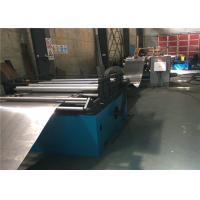 China 5.5 KW Storage Rack Roll Forming Machine , Roller Forming Machine Manual Uncoiler wholesale