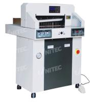 China 380.0kgs Hydraulic Computerized Paper Cutter 480mm Table Depth 480HP wholesale