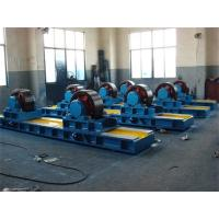China Bolt Adjustment Conventional Tank Turning Rolls with Double Motor ,  60 Ton Tank Turning Rolls wholesale