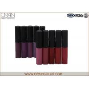 China Dark Color Style All Natural Lip Gloss Set , Fresh Moisturizing Lip Gloss wholesale