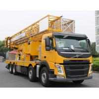 China Durable Under Bridge Platform Snooper Truck Inspection Equipment Yellow Color on sale