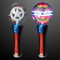 China Classical Flashing Spinner Toy Multicolor Magic Small Light Up Galaxy Spinner  For Kids wholesale