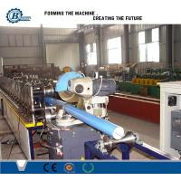 China Customized Cold Rolled Round Downpipe Roll Forming Machine Stainless Steel wholesale