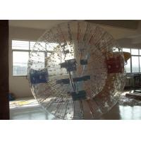 China Transparent Inflatable Zorb Ball Grass Ball With Colorful Glow Stick on sale