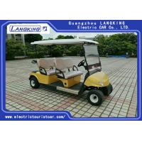 China Mini 4 Wheel Drive Electric Golf Carts With 48V Dry Battery For Hotel HS CODE 8703101900 on sale