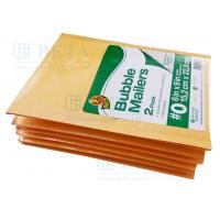 Retail Shrink Pack Kraft Bubble Mailer 2pk #0 With Custom Label for sale