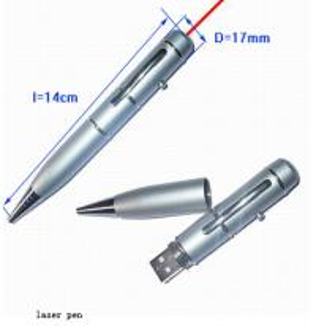 China Kongst custom usb laser pointer usb flash drive/pen usb for cooperation gift wholesale