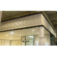 China PVC 3D Background Wall Exterior / Interior Wall Paneling Tiles wholesale