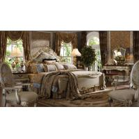 China royal antique bedroom furniture, european latest oak wooden bedrooms wholesale