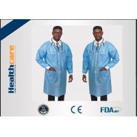China Comfortable Disposable Dental Lab Jackets Non Toxic For Hospital Eco Friendly wholesale