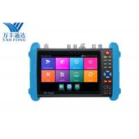 China 7 Inch IPS Touch Screen CCTV Security Camera Tester , 4K H.265 IP Cctv Camera Video Tester wholesale