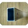 China Building 40x40 Aluminium Profile Square Tubing Anodized Sliver Color Custom Design wholesale